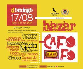 Bazar Cafofo realiza sua primeira edição em Santos