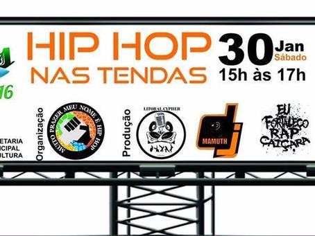 Hip Hop nas tendas
