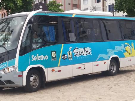 Garagem do Bonde no trajeto da Linha Conheça Santos