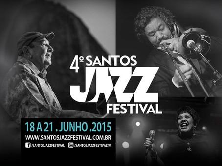 Inscrições abertas para oficinas gratuitas do 4º Santos Jazz Festival