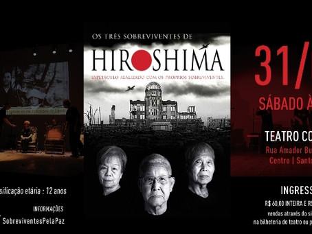 Os Três Sobreviventes de Hiroshima em Santos