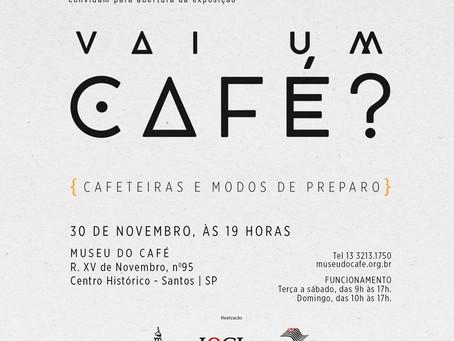 Museu do Café inaugura exposição sobre modos de preparo da bebida