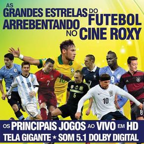 Cine Roxy exibirá jogos da Copa ao vivo