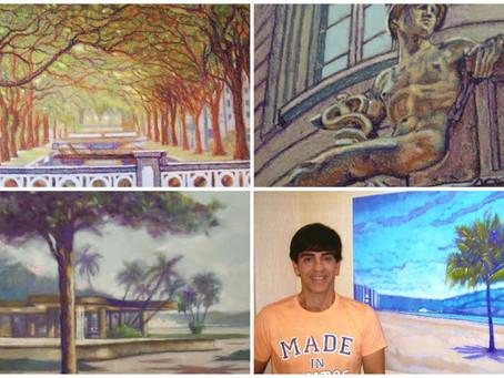 Waldemar Lopes homenageará cidade na exposição Viva Santos!
