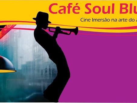 Cinema ao vivo com aroma e sabor de café - Museu do Café