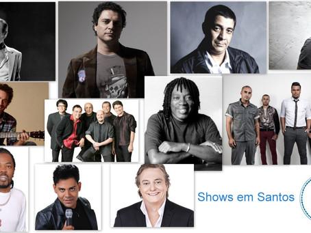Shows em Santos 2015