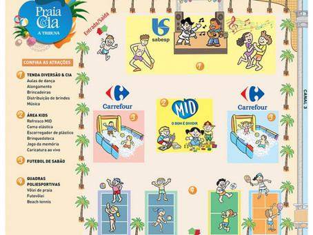 Arena Praia & Cia A Tribuna 2016