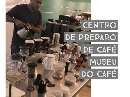Centro de Preparação de Café - Museu do Café