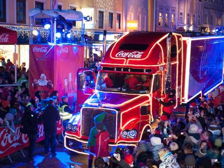 Caravana Iluminada da Coca-Cola em Santos
