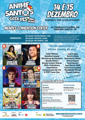 Anime Santos Geek Fest Xmas Edition