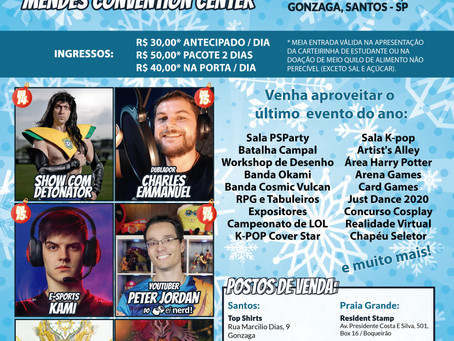 Anime Santos Geek Fest Xmas Edition