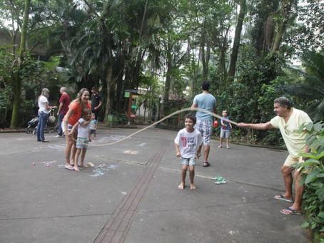 Parques de Santos têm muita diversão para as crianças