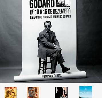 Mostra  homenageia Jean-luc Godard