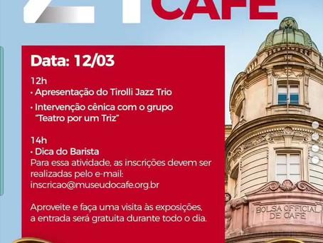 Museu do Café comemora aniversário com programação gratuita