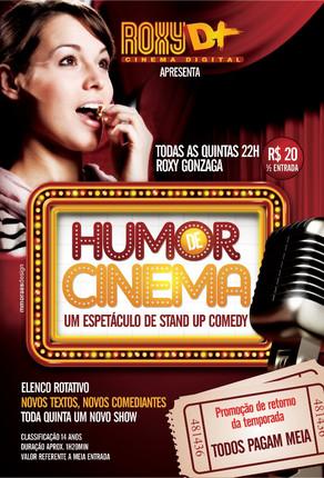 Humor de Cinema de 13 e 14 de novembro