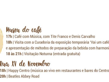 Programação Festival Santos Café 2018