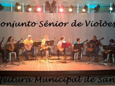 Museu do Café recebe Conjunto Sênior de Violões na Virada Cultural Paulista