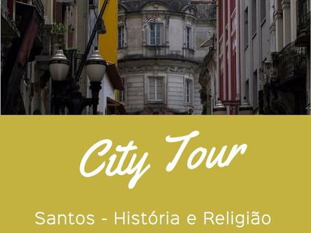 City Tour -  Santos História e Religião - 29/07