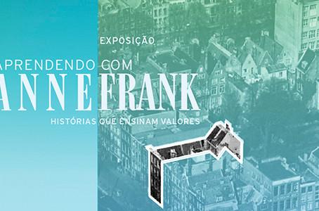 Exposição: Aprendendo com Anne Frank - histórias que ensinam valores