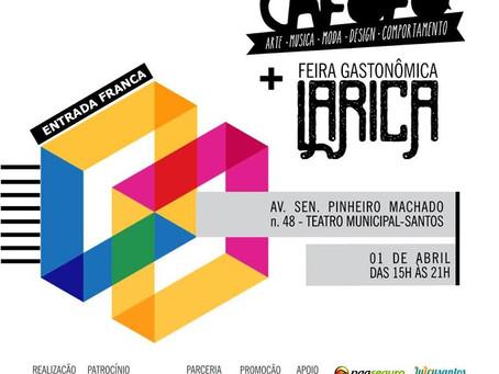 Bazar Cafofo e Larica  juntos no Teatro Municipal de Santos