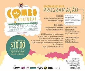 Após o sucesso na estreia, Combo Cultural retorna nesta sexta-feira ao Lobo Estudio.