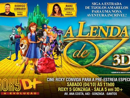 Cine Roxy faz pré-estreia especial de A Lenda de Oz