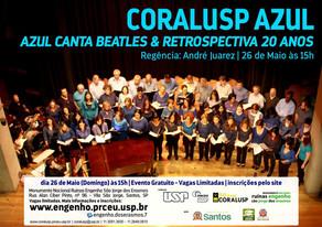 Concerto Gratuito do CORALUSP no Engenho dos Erasmos