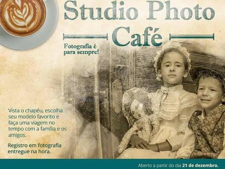 Museu do Café inaugura estúdio fotográfico temático