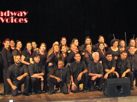 Broadway Voices no Shopping Pátio Iporanga