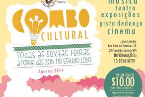 "Projeto ""Combo Cultural""  arte a R$10"