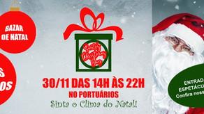Santos Christmas Day traz espetáculos natalinos e bazar