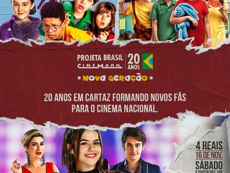 20º Projeta Brasil Cinemark - Cinema Nacional a R$4