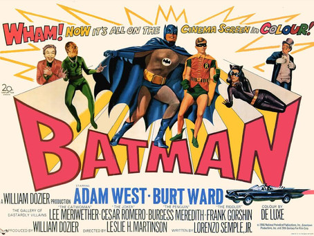 """Sessão gratuita de """"Batman, O Homem-Morcego"""" (1966) em  homenagem ao ator Adam West"""