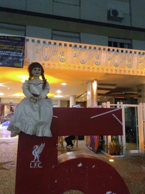 Annabelle está em Santos