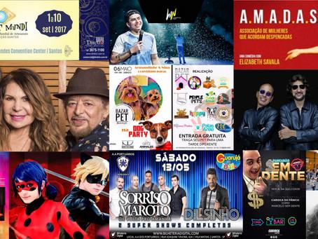 Agenda Cultural Santos - 2017
