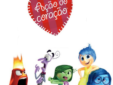Ação do Coração terá sessão beneficente da animação Divertida Mente no Cine Roxy