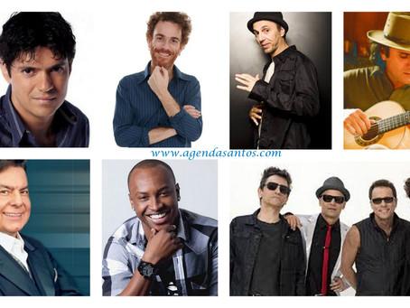 Shows em Santos - Março, Abril e Maio 2015