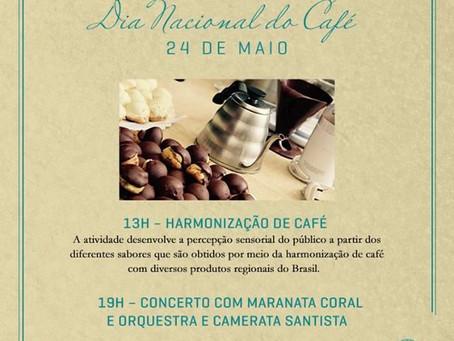 Dia Nacional do Café: Museu do Café comemora com harmonização e concerto