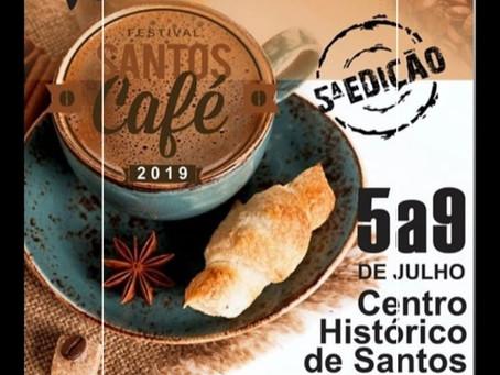 Festival Santos Café 2019 terá recorde de atrações
