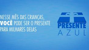 Santos Futebol Clube e UNICEF promovem a campanha Presente Azul.