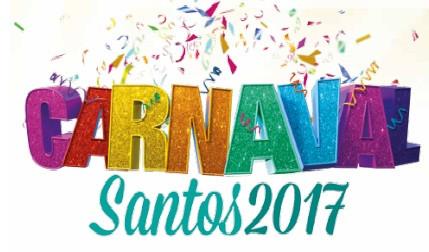 Carnaval Santos 2017 - Programação