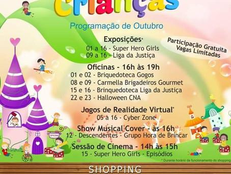 Mês das Crianças no Shopping Pátio Iporanga