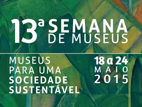 Programação Semana dos Museus