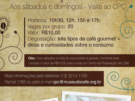 Degustação de Café - Museu do Café - Junho 2017