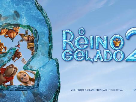 """""""Sessão Coca-Cola""""  terá pré-estreia de """"O Reino Congelado 2"""""""