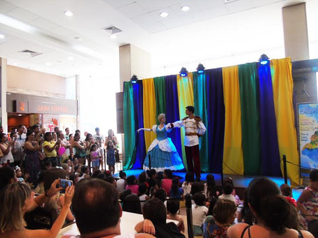 Férias no Shopping Pátio Iporanga