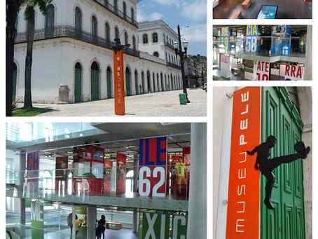 Museu Pelé muda horário com o fim da temporada