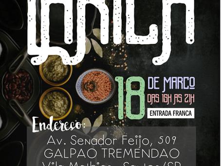 Larica - Feirinha Gastronômica  - 18/03