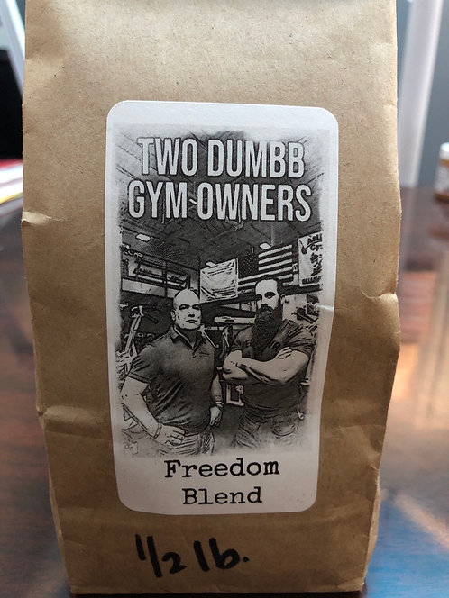 2 Dumb Gym Owners - Charity Coffee