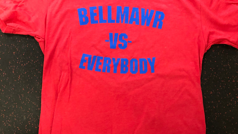 Bellmawr Vs. Everybody Red/ Blue Shirt